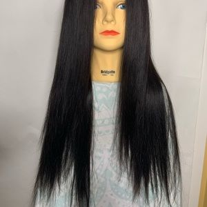 100% Brazilian Human Hair Lace Wig - Long and Silk